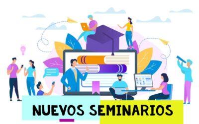 SEMINARIOS ON LINE, volvemos para juntarnos de nuevo, INSCRIBETE!!